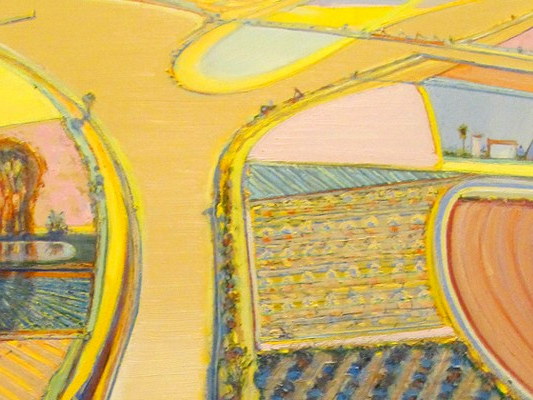 Wayne_Thiebaud_River-Intersection-galleryIntell_ArtEx